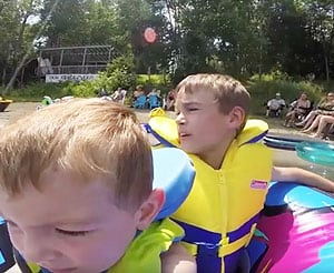 Kids Pontoon Tubing Safety Tips