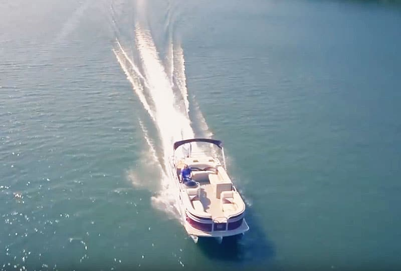 fastest production pontoon boat on the market