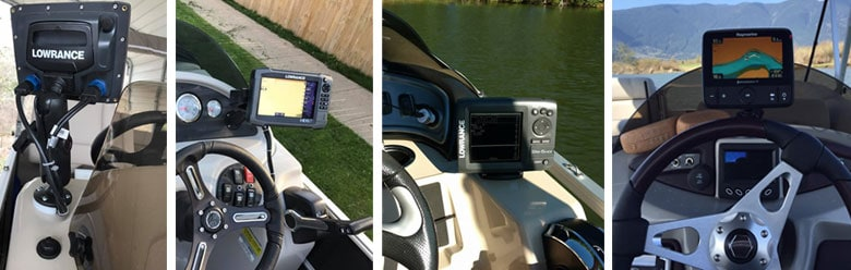 Mounting Positions for Installing Fish Finders on Pontoons