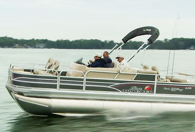 How Much Does A Pontoon Boat Weigh Dry Weight Or With Trailer