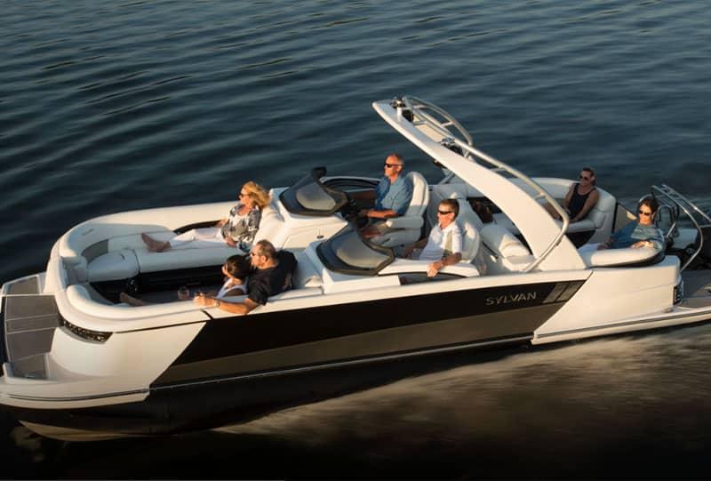 2018 Sylvan M5 LZ DC Pontoon Boat Review