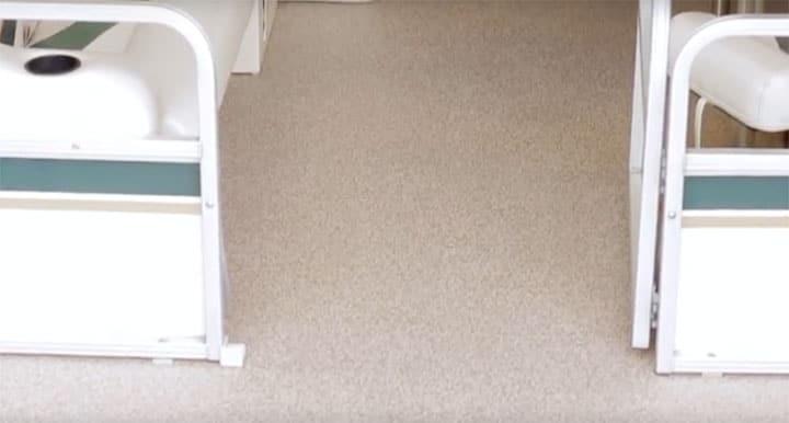 Vinyl weave flooring