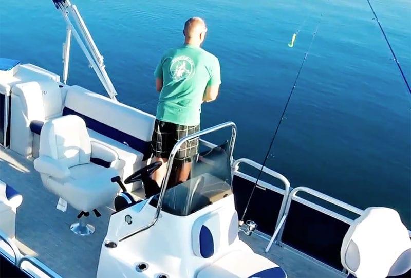 Pontoon Boat Fishing Rod Storage Ideas Racks Keep Your Poles Safe