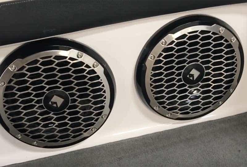 best pontoon boat speakers