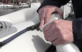 how to clean an inflatable boat