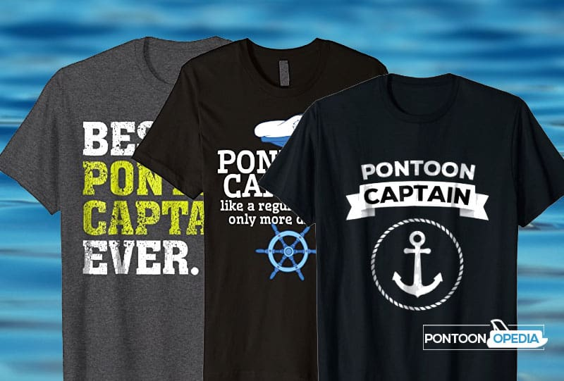 pontoon boat captain shirt