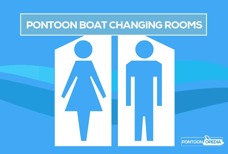 best pontoon changing rooms