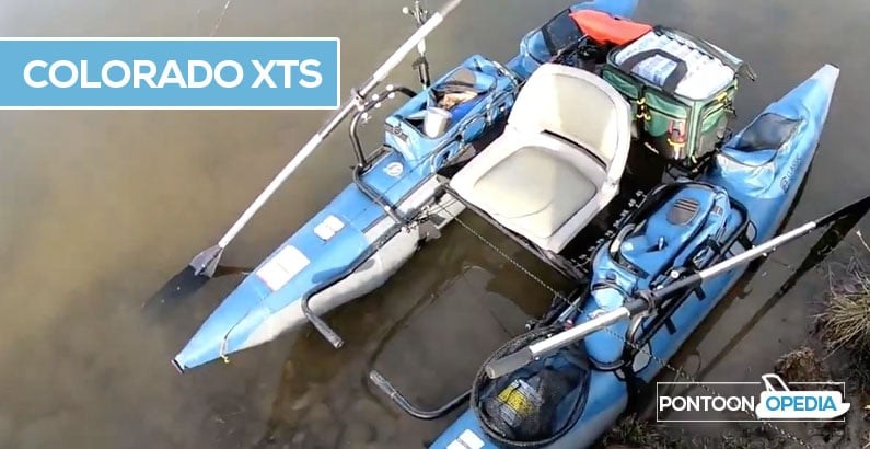 Colorado XTS inflatable pontoon review