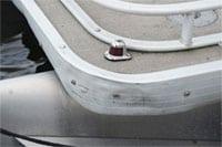 pontoon corner fenders are needed here!
