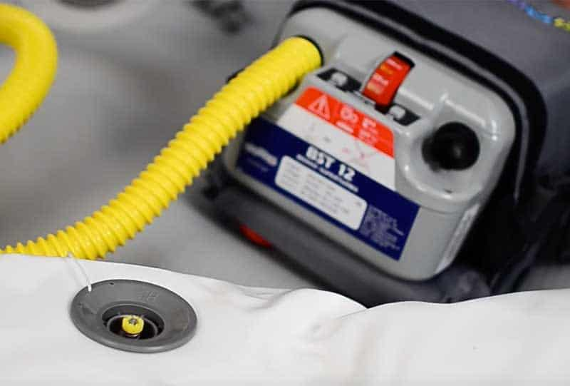 best inflatable boat pumps