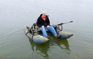 how safe are inflatable pontoon boats