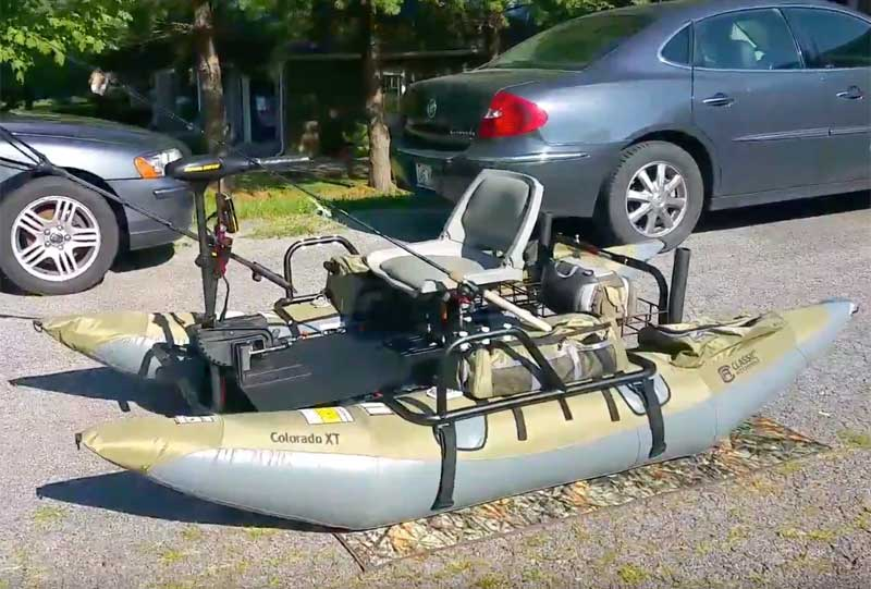 How to Store an Inflatable Pontoon Boat
