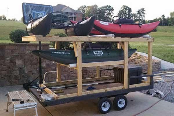 custom trailer build