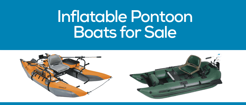 inflatable pontoon fishing boats for sale