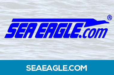 Click for personal fishing pontoons on sale at Sea Eagle