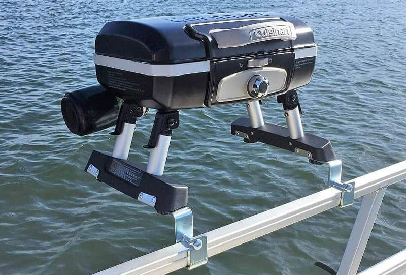 Pontoon Grill Mounts That Let You Cook On Your Rails Must Read