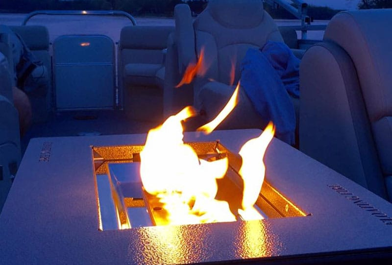 boat fire pits for sale ideal for a pontoon
