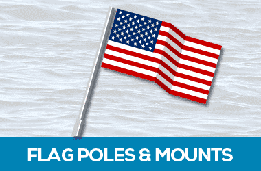 flag poles and mounts