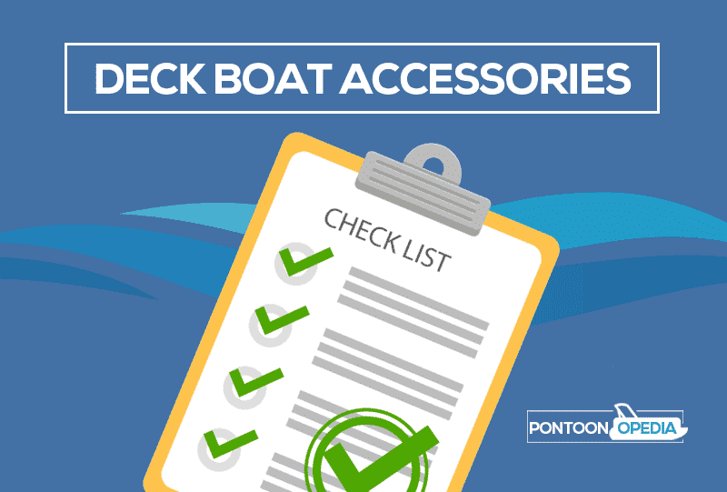 Cool deck boat accessories