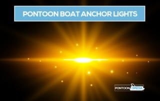 pontoon boat anchor light
