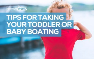boating with a toddler or baby