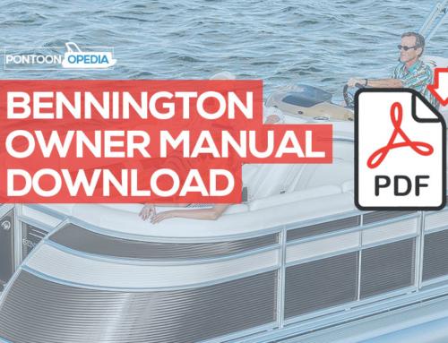 Bennington Pontoon Owner's Manual Download