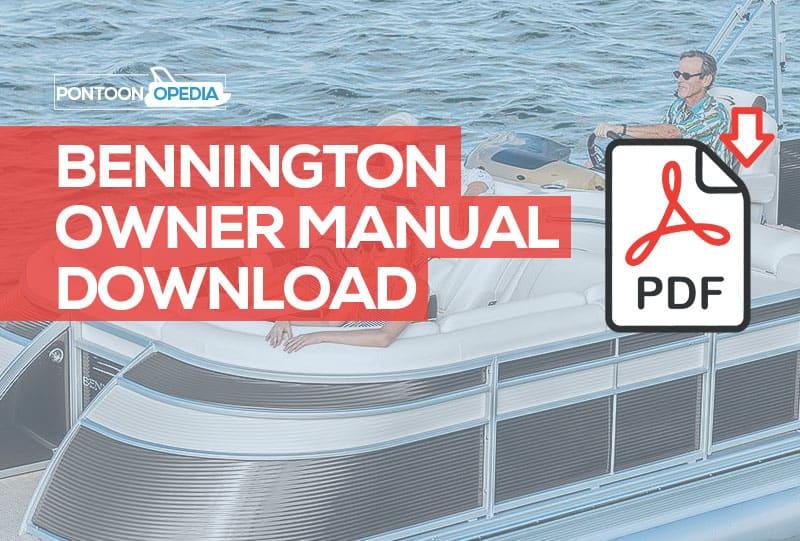 Bennington Pontoon Boat Owner Manual [ Download Latest Version ]Pontoonopedia