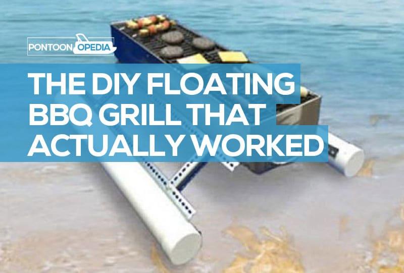 DIY Floating BBQ Grill