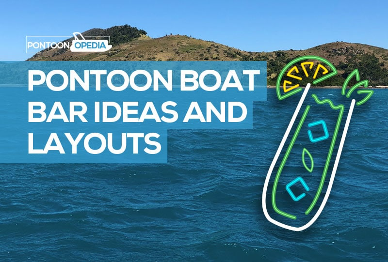 Superieur Pontoon Boat Bar Table U0026 Furniture Layout Ideas + How You Can Create Your  Own