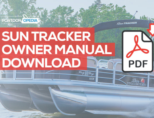 Sun Tracker Pontoon Boat Owner's Manual Download