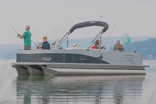 pontoon fishing tips