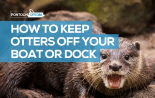 how can i keep otters off my boat