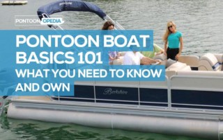 pontoon boat basics