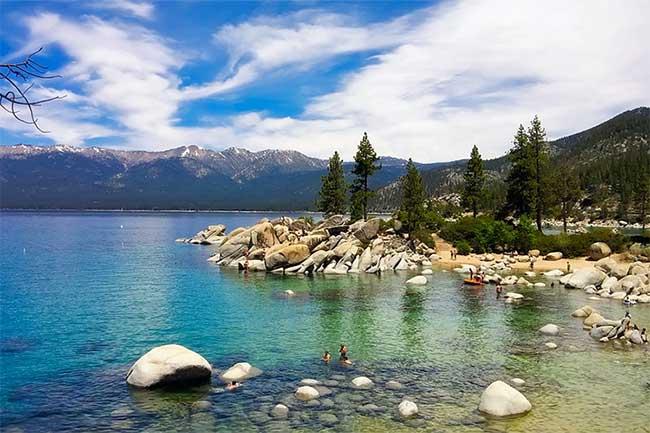 Pontoon boat rental lake tahoe