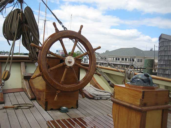 What Is The Steering Wheel On A Boat Called Correct Answer