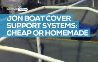 Homemade Jon Boat Cover Support System