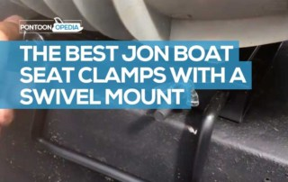jon boat seat clamp with swivel mount