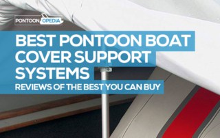 best pontoon boat cover support system reviews
