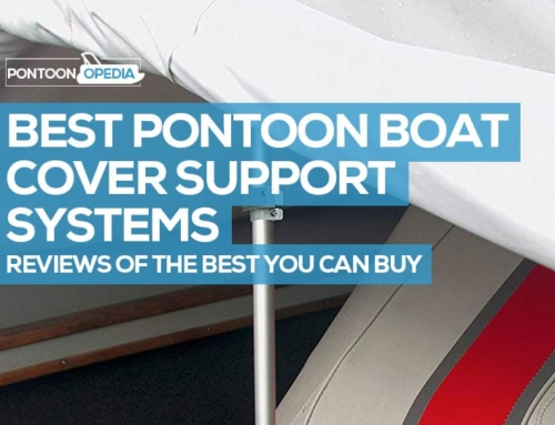 Pontoon Boat Cover Support Systems: Reviews of the Best Pole & Vent System