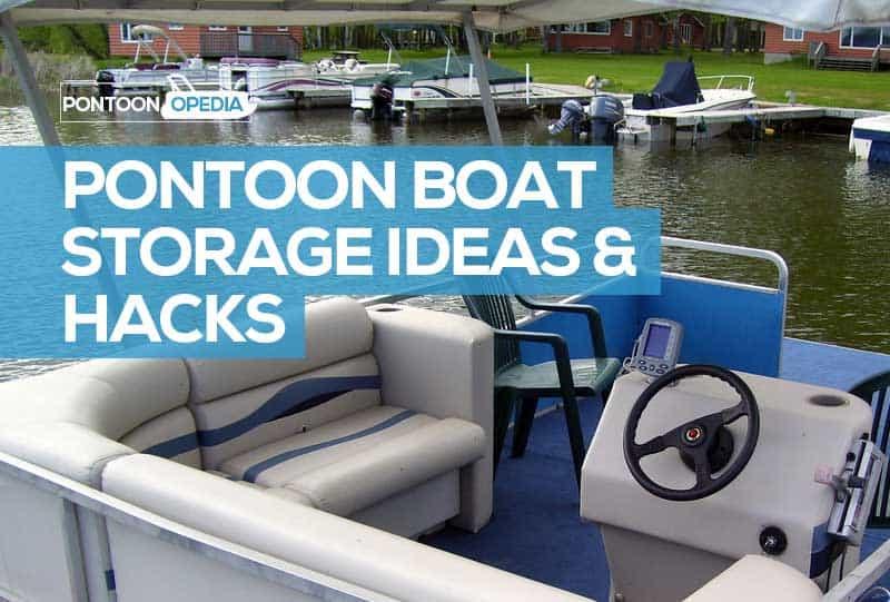 pontoon boat storage accessories