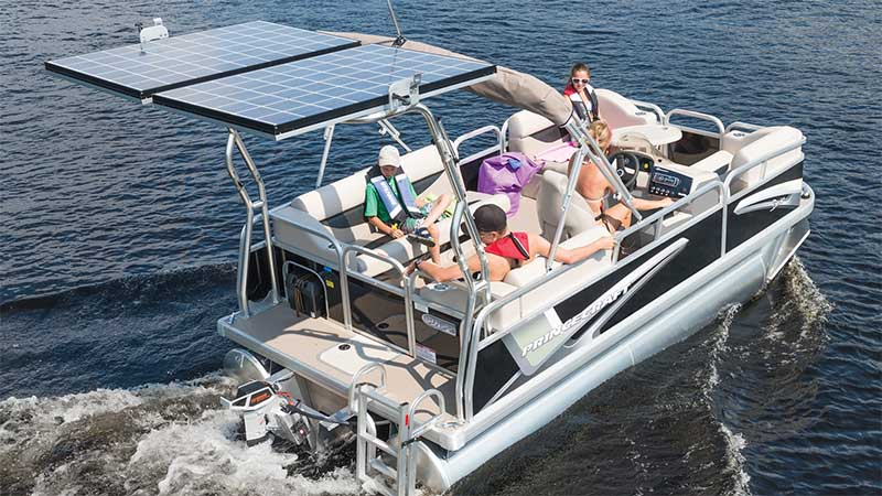 Electric Pontoon Boats: Motors for Mini, Small, and Up to 25