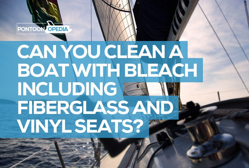how to clean a boat with bleach