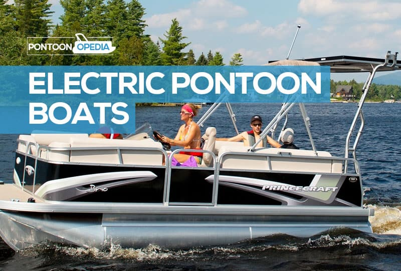 mini electric pontoon boats