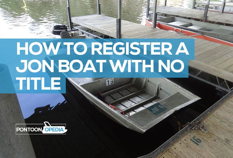 how to register a jon boat with no title
