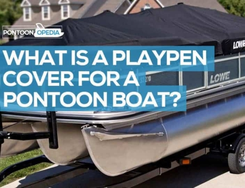 What is a Playpen Cover for a Pontoon Boat?