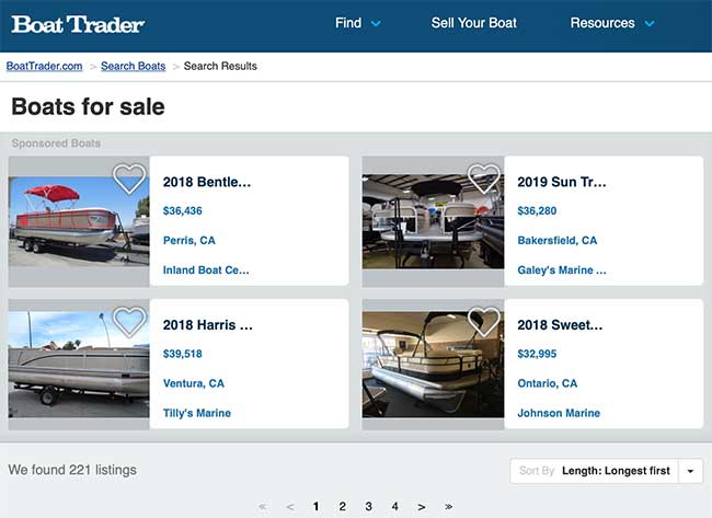 how to buy a used pontoon boat