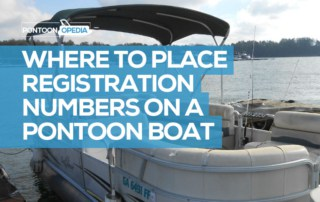 Where to Place Registration Numbers on a Pontoon Boat