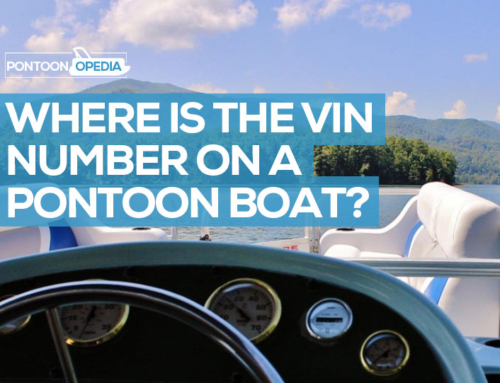 Where is the VIN Number on a Pontoon Boat?