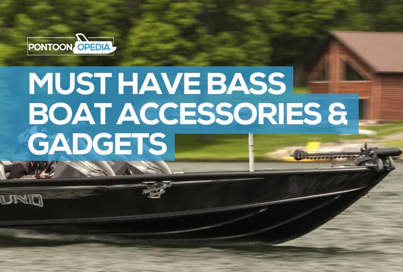 cool bass boat accessories