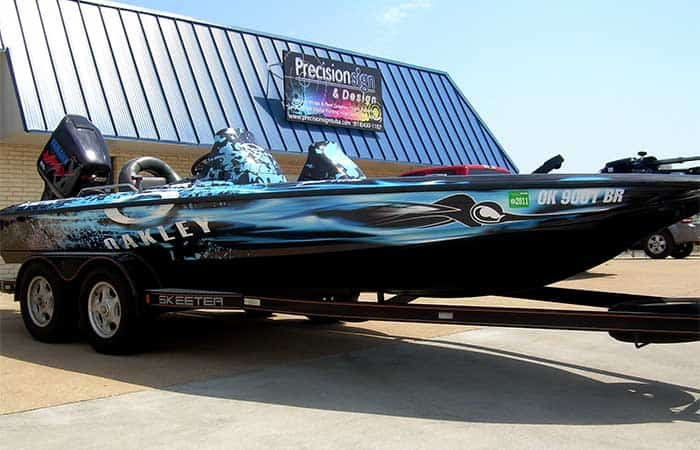 bass boat wrap cost